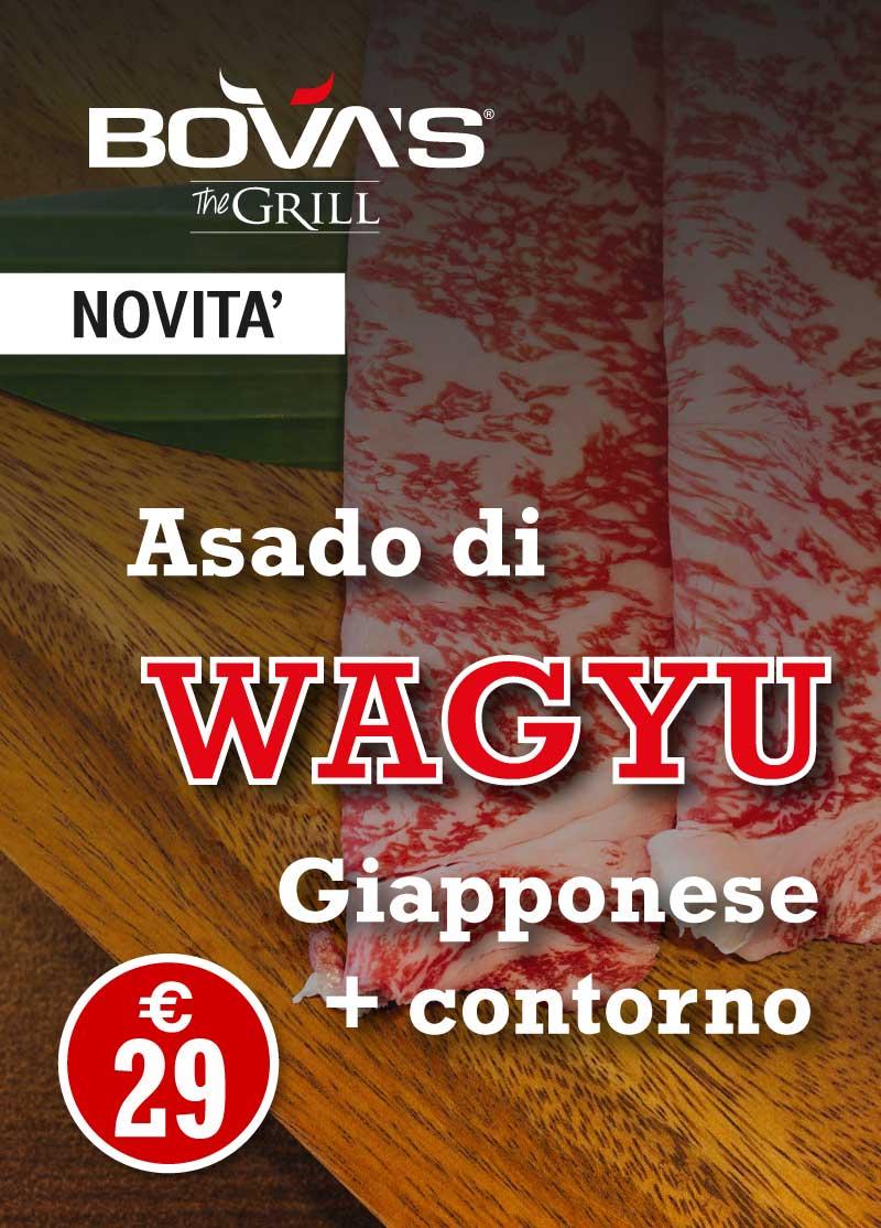 ASADO WAGYU ristorante bisteccheria bova's steakhouse