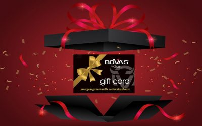 GIFT CARD Bova's the Grill: un regalo di gusto!